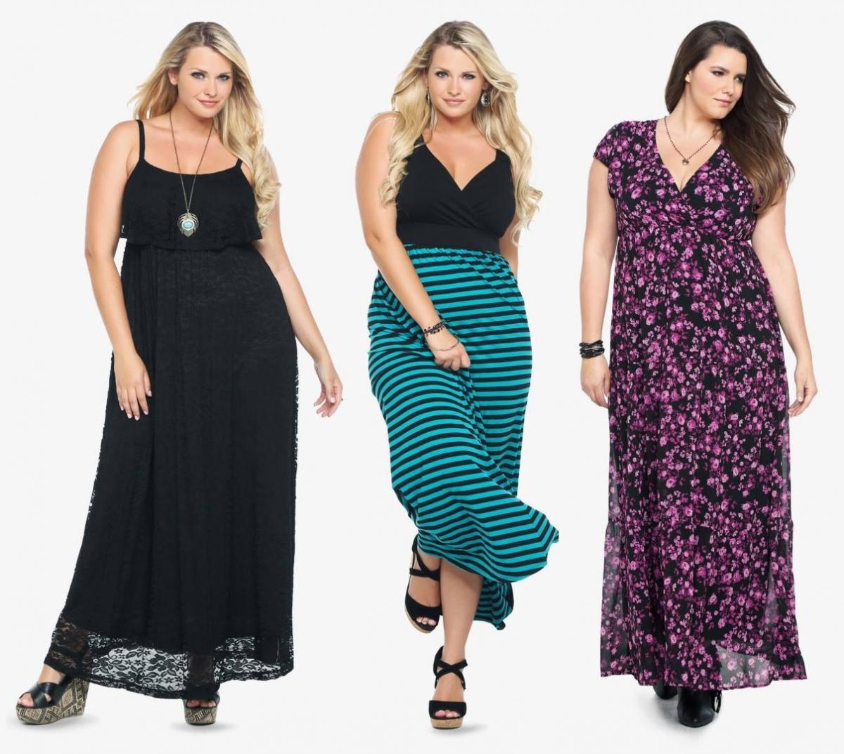 Как одеваться стильно при лишнем весе