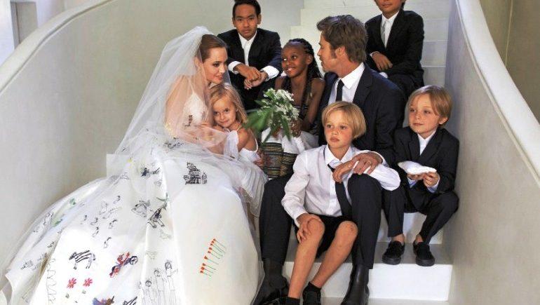 о разводе Джоли и Питта
