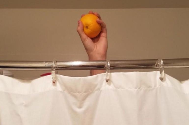 апельсины в душе