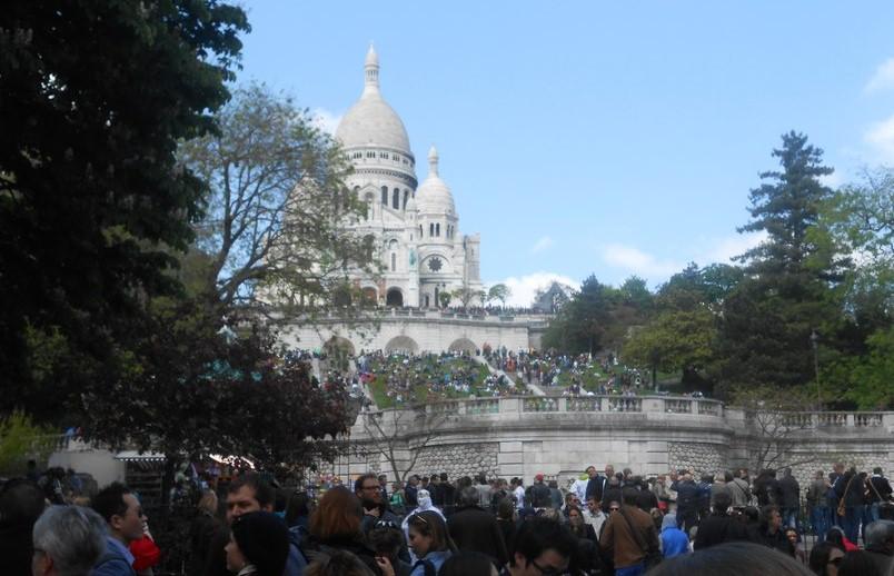 Монмартр глазами туриста