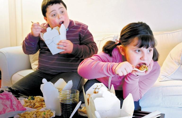 Ожирение передаётся по наследству