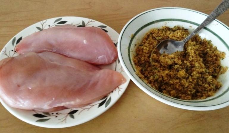 Балык из куриного филе