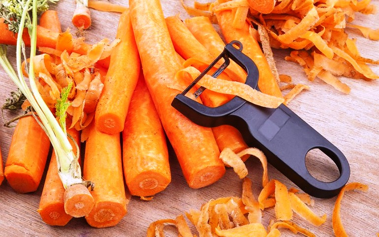 Овощная кожура полезна для здоровья