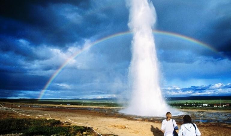исландия гейзеры