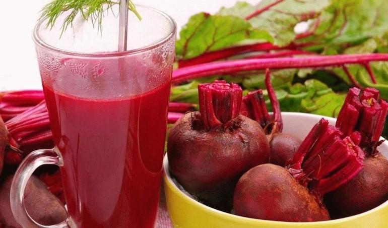 Свекольный сок снижает кровяное давление