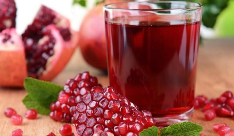 Гранатовый сок повышает работоспособность