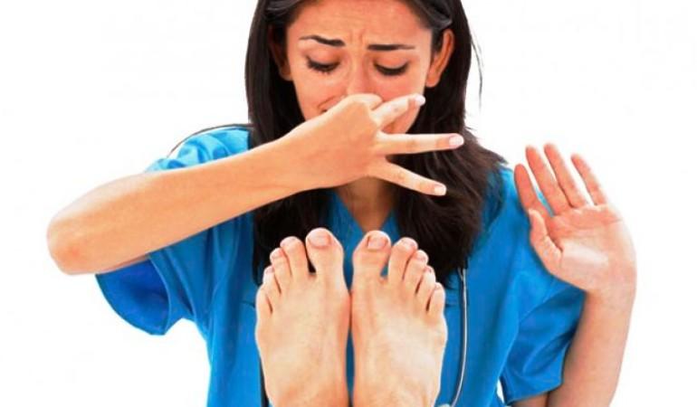 Народные средства от запаха ног