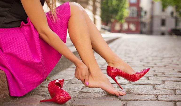 Вред и польза от обуви на высоких каблуках