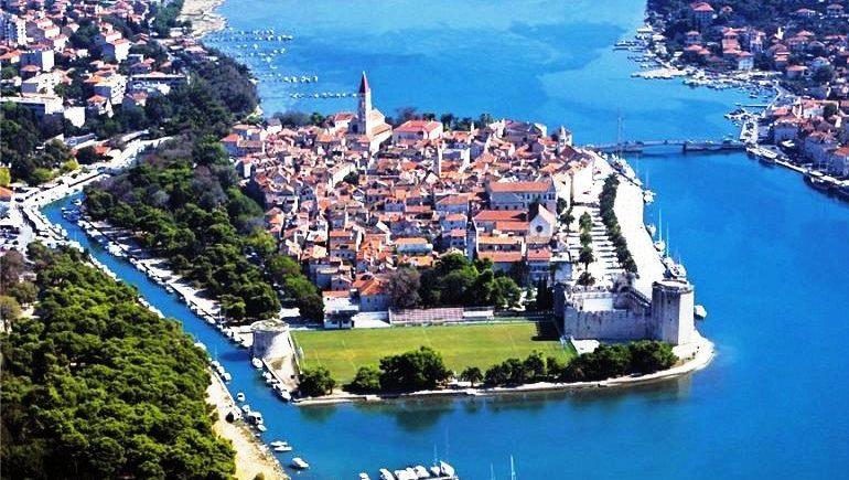 Путешествие по Хорватии – неприступный город-остров Трогир