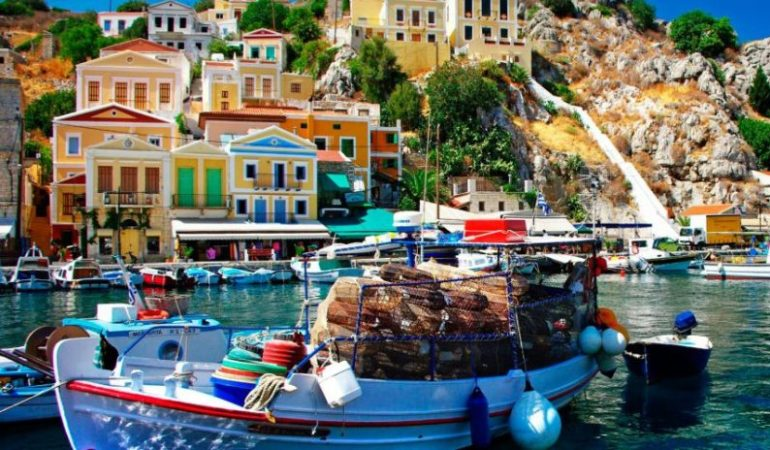 Мифический остров Родос- рай для туристов