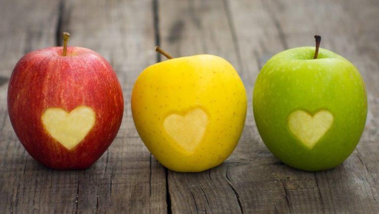 Польза яблок для работы сердечно-сосудистой системы