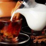 Смешивать молоко и чай нельзя