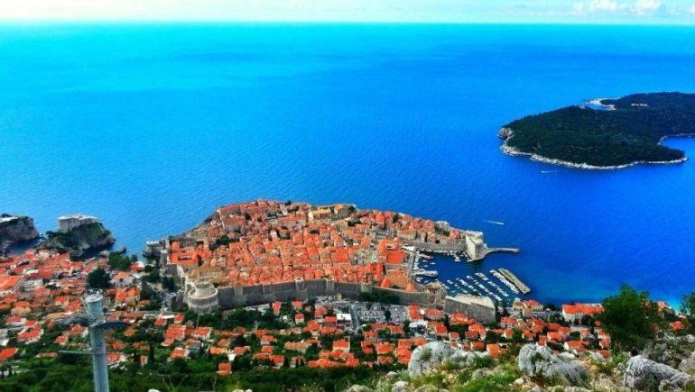 белый город в Хорватии – Дубровник