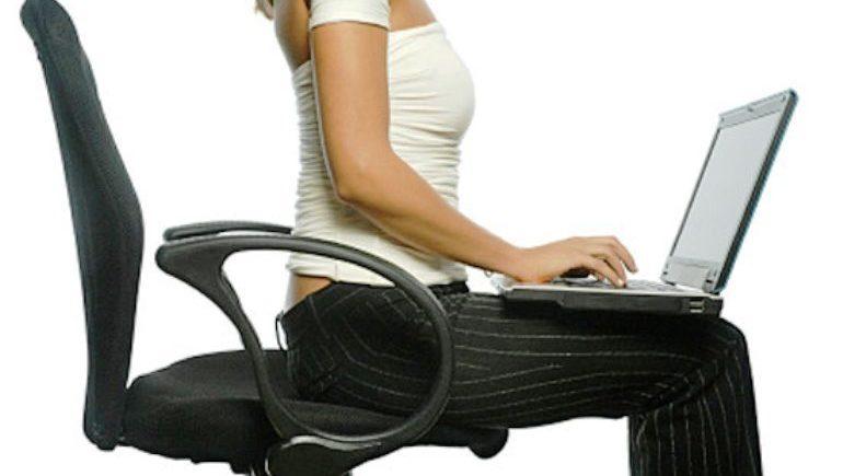 Сидеть с прямой спиной вредно для здоровья