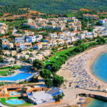 Пляж Малья на острове Крит