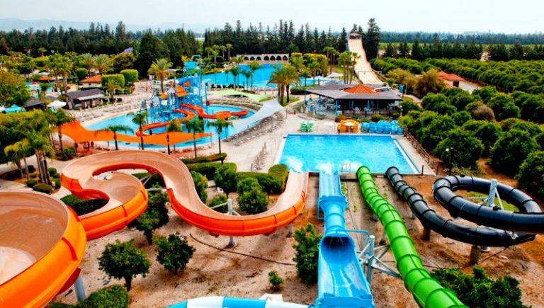 Супер аквапарк Watermania в Лимассоле на острове Кипр