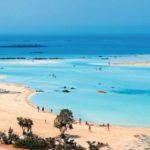 Пляж Элафониси (Elafonisi) на острове Крит в Греции