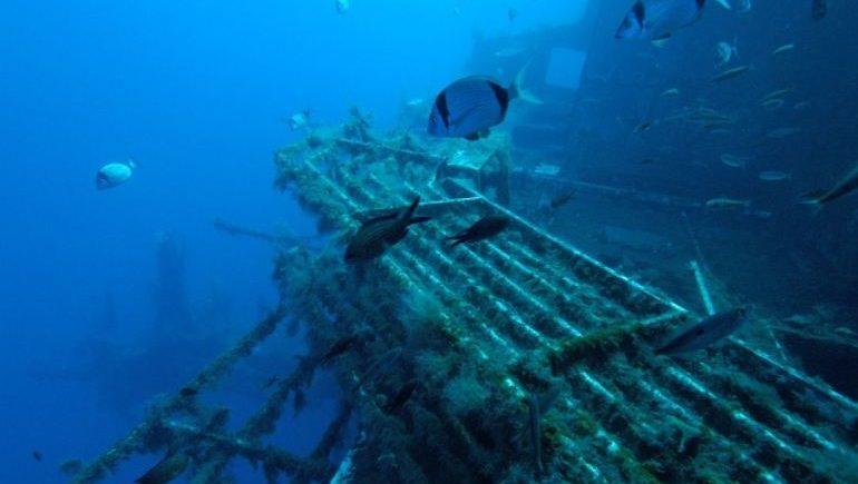 На Кипре корабль Зенобия стал Меккой для wreck-дайверов