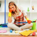 Уборка в квартире полезна для здоровья