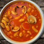 Рецепт - консервированная фасоль с моллюсками